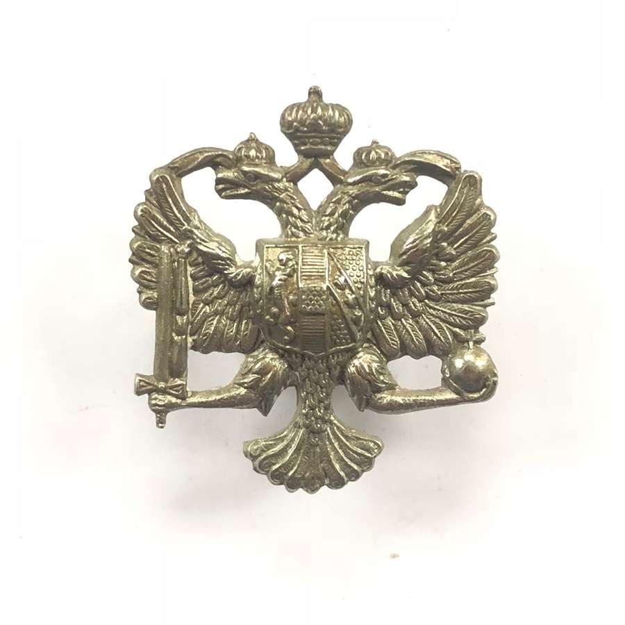 WW2 King's Dragoon Guards Cavalry Cap Badge.