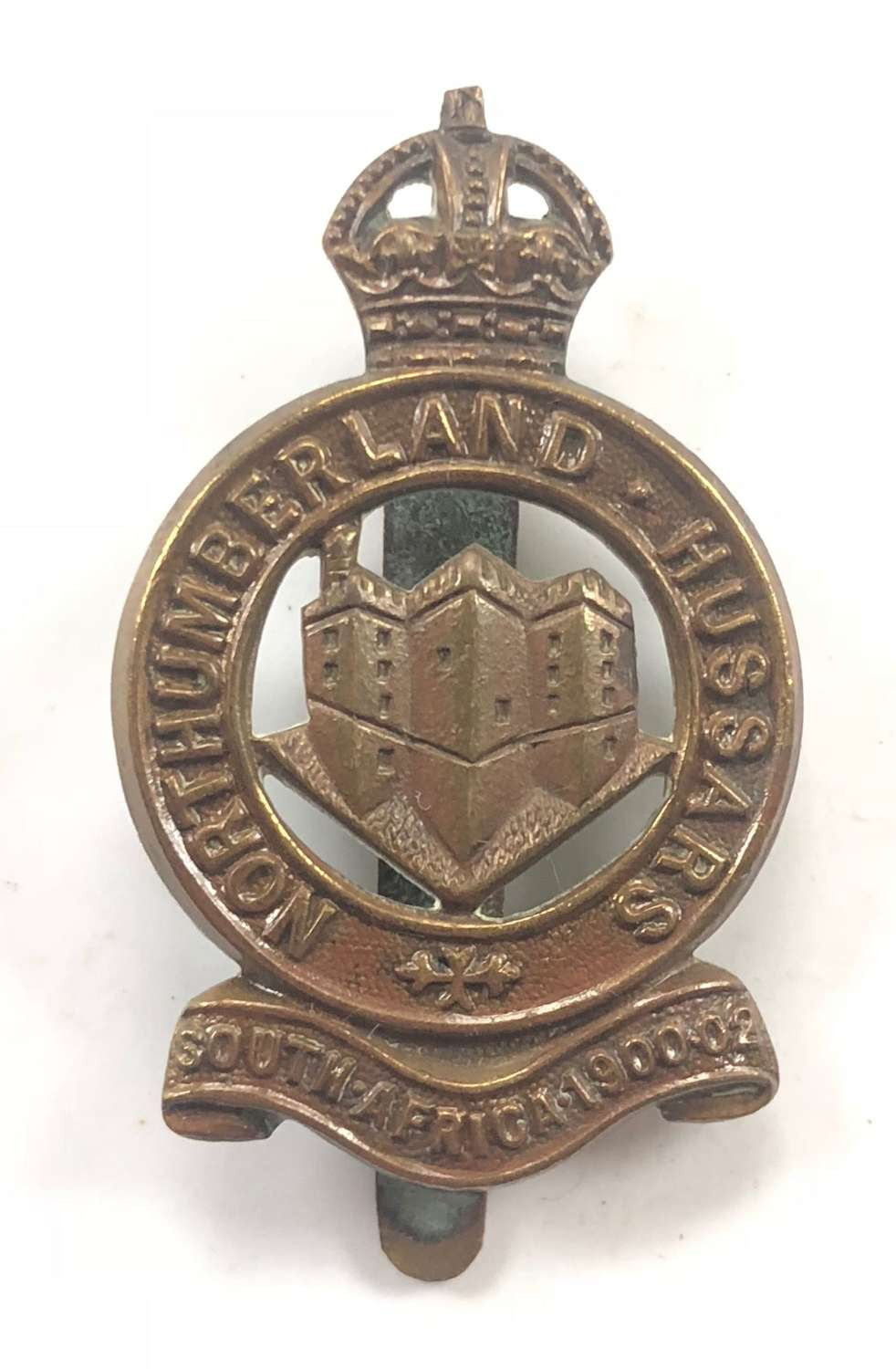 WW1 Northumberland Hussars Yeomanry Other Rank's Cap Badge.
