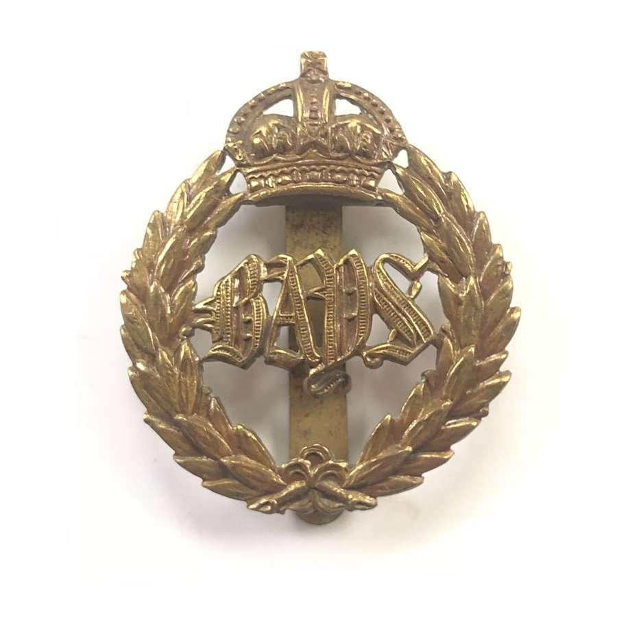 WW1 Queen's Bays 2nd Dragoon Guards Cavalry Cap Badge.