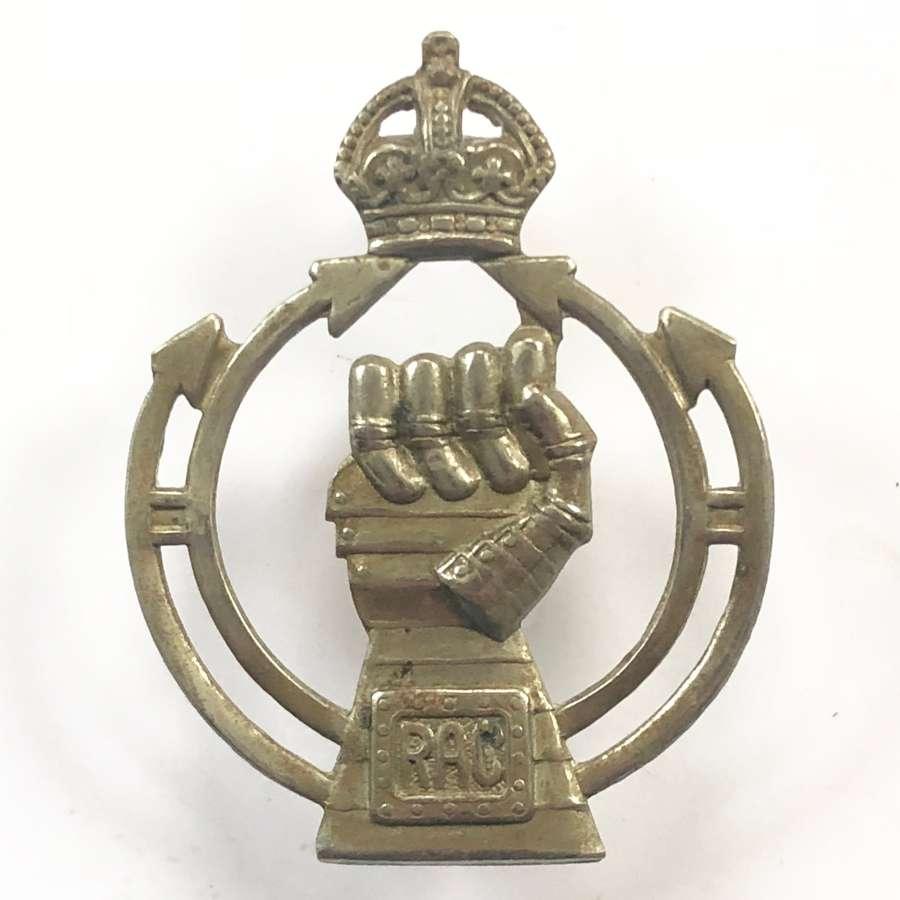 WW2 Royal Armoured Corps Cap Badge.