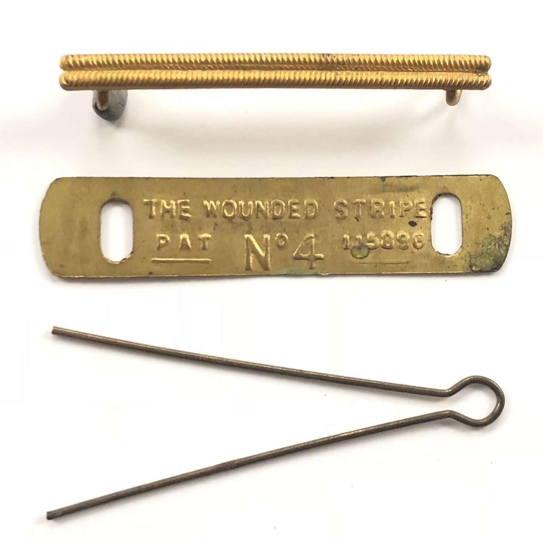 WW1 British Army Original Wound Stripe Badge.