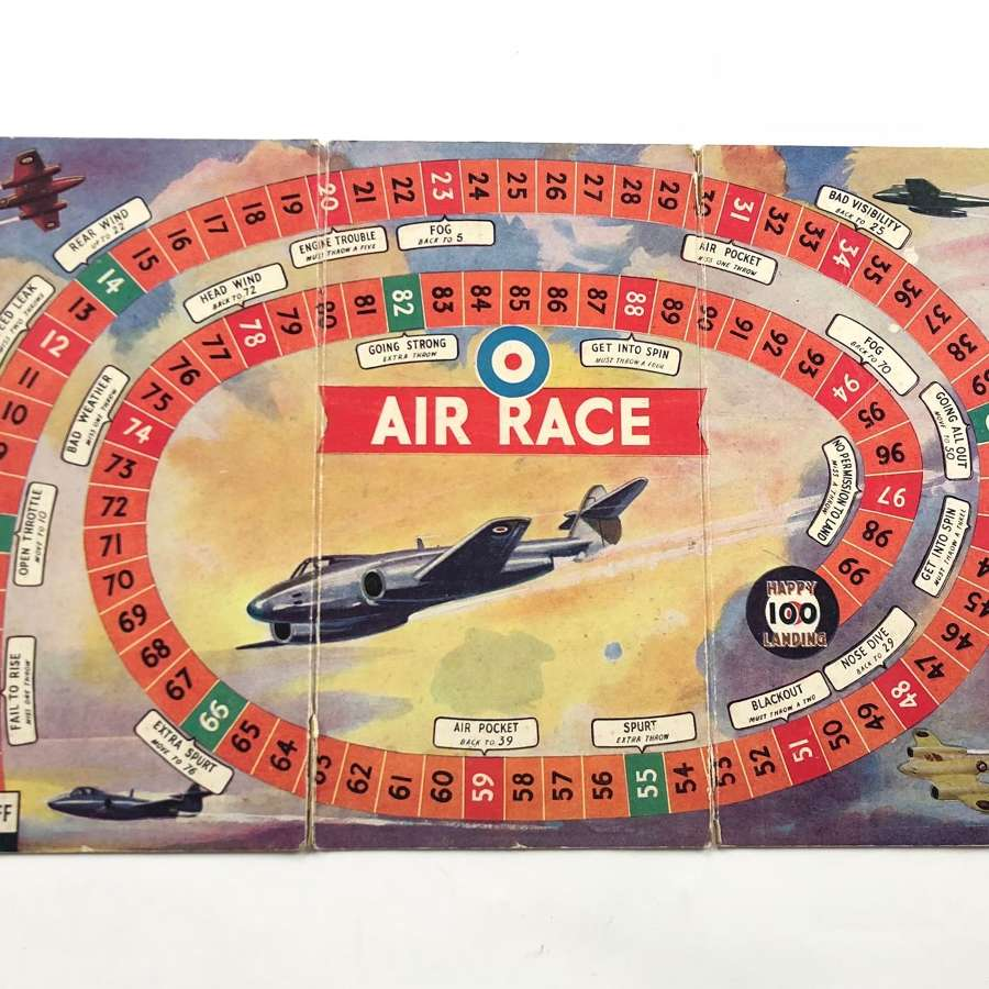 "Cold War Period ""Air Race"" Board Game."