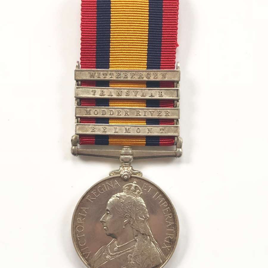 Boer War King's Own Yorkshire Light Infantry KOYLI Casualty Medal