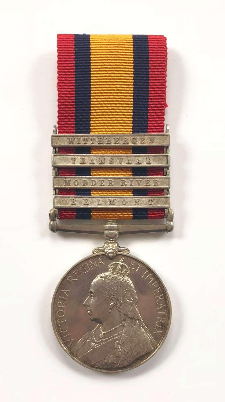Boer War King's Own Yorkshire Light Infantry KOYLI Casualty Medal