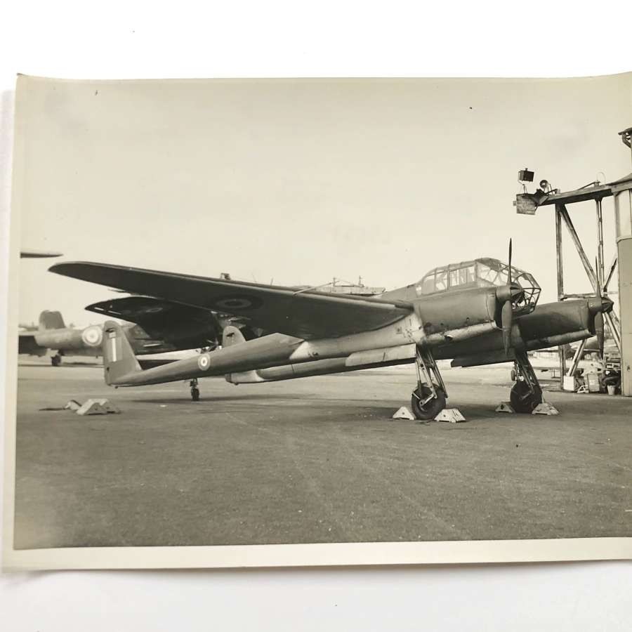 WW2 RAF Intelligence Section Original Photograph German FW189 Aircraft
