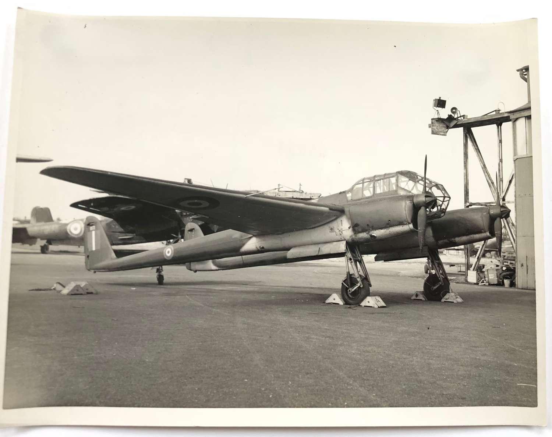 WW2 RAF Intelligence Section Original Photograph German FW189 Aircraft