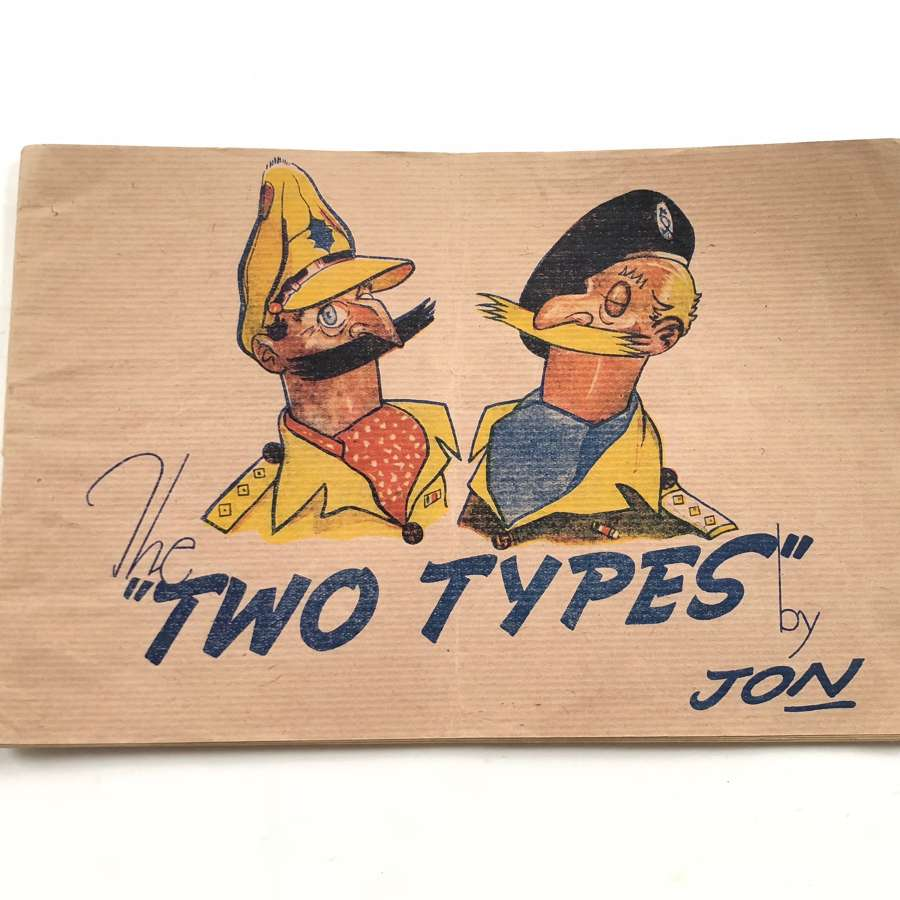 WW2 Cartoons Two Types by Jon Original Edition.