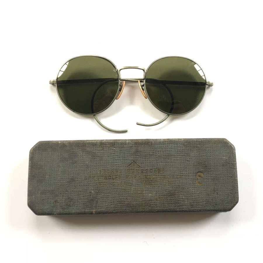 WW2 Pattern RAF Aircrew Sunglasses.