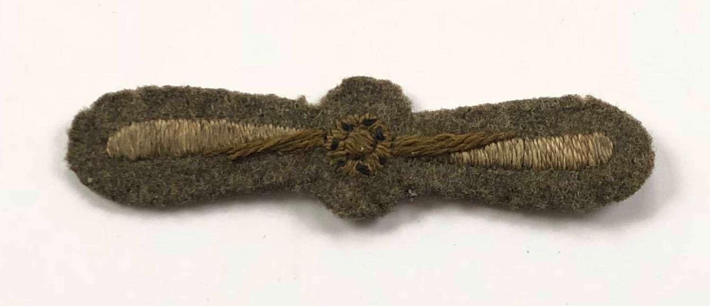 WW1 Royal Flying Corps 1st Class Air Mechanic Rank Badge