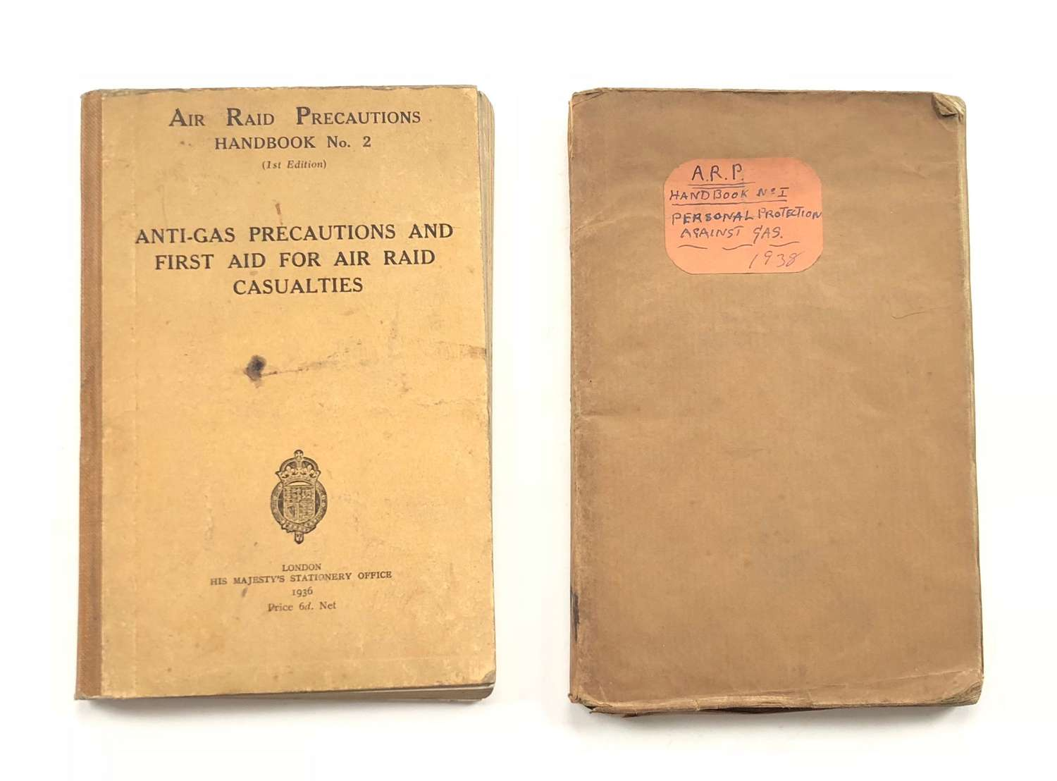 WW2 Home Front Hammersmith Council ARP Booklet.