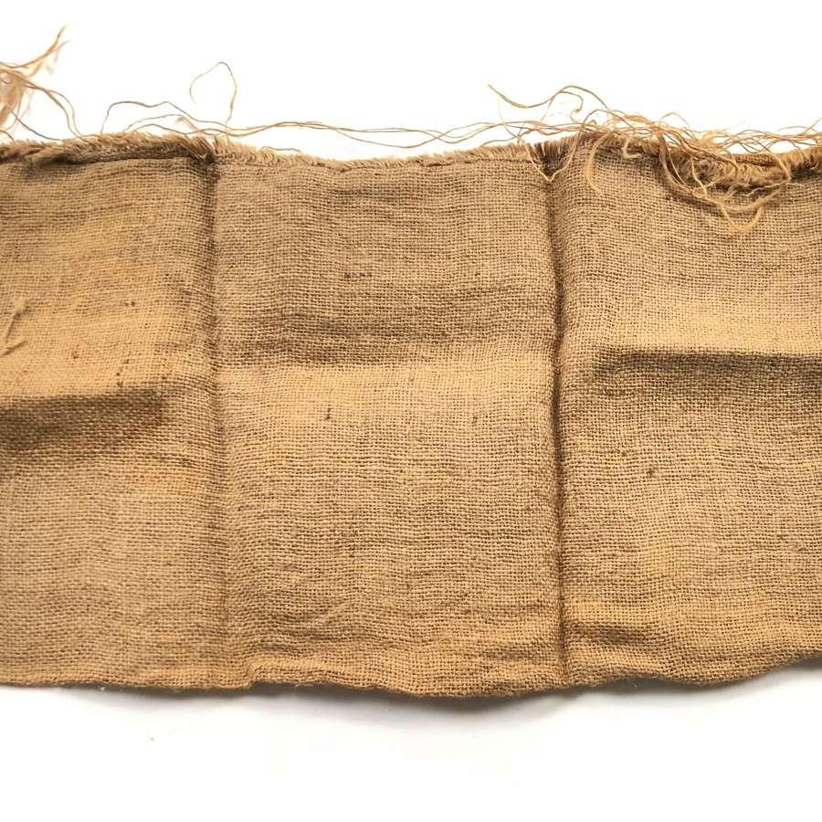 WW1 Pattern Sandbag.