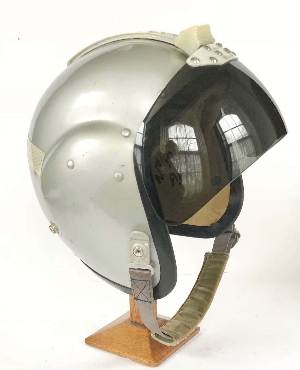 RAF Cold War Period MKiA Bone Dome Flying Helmet Large Size 3