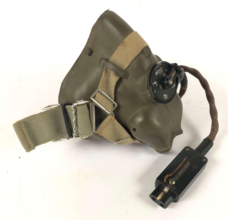 WW2 RAF 1945 H Type Aircrew Oxygen Mask.