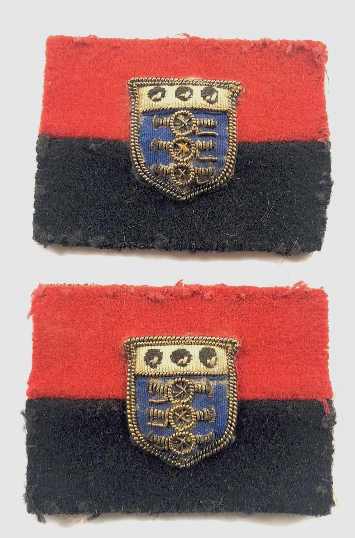 British Army Cold War Period War Officer Formation Cloth Badge.