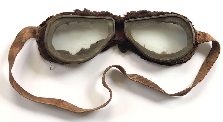 WW1 Period RFC, RNAS, RAF Style Flying Goggles.