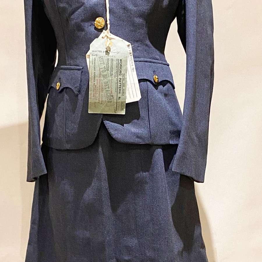 RAF Cold War Sealed Working Pattern WRAF Warrant Officer Uniform