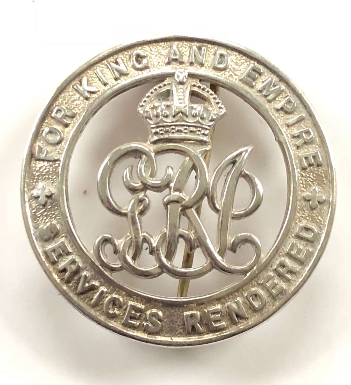 WW1 Ox & Bucks Light Infantry Silver War Badge.