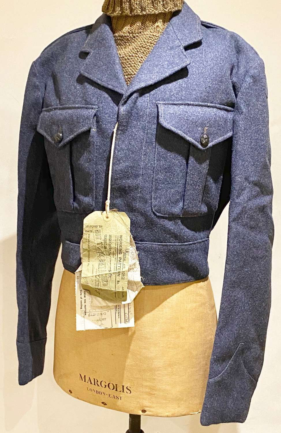"RAF Cold War Sealed Pattern of the ""Hairy Mary"" Battledress Blouse"