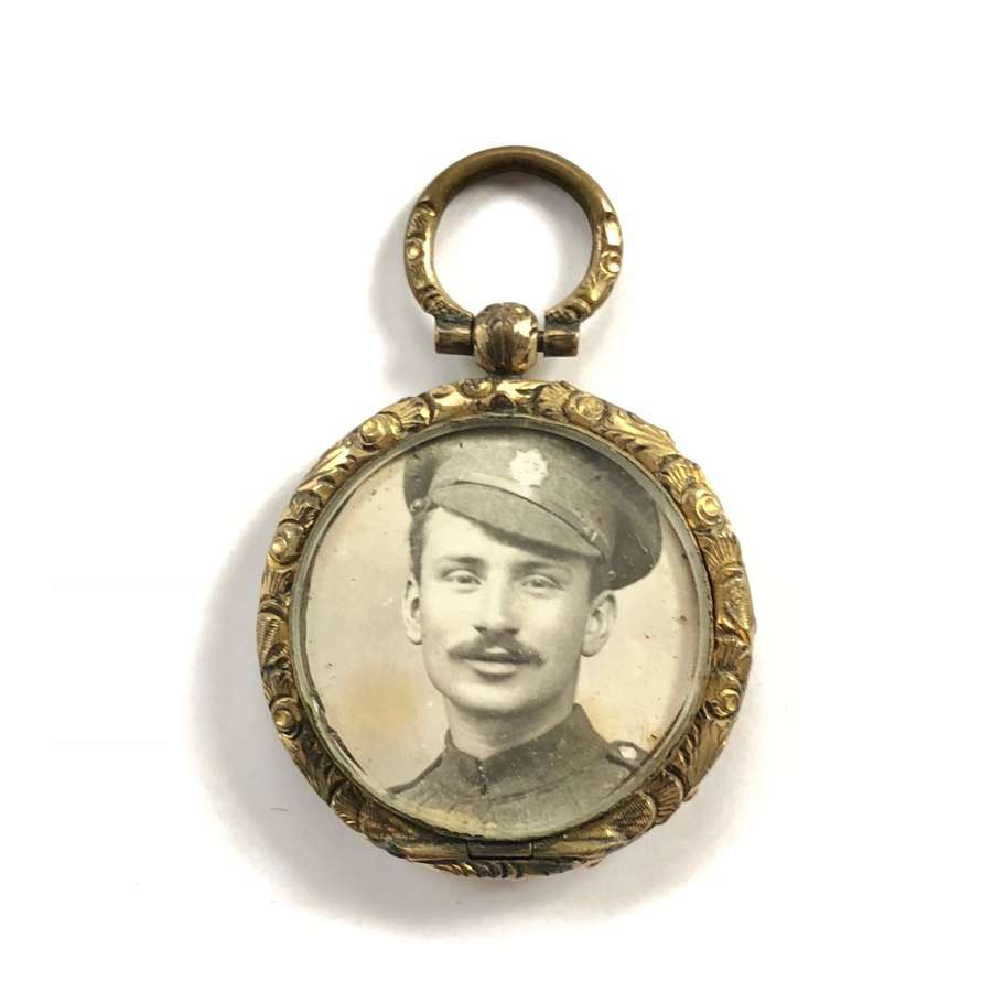 WW1 Army Service Corps ASC Sweetheart Locket.