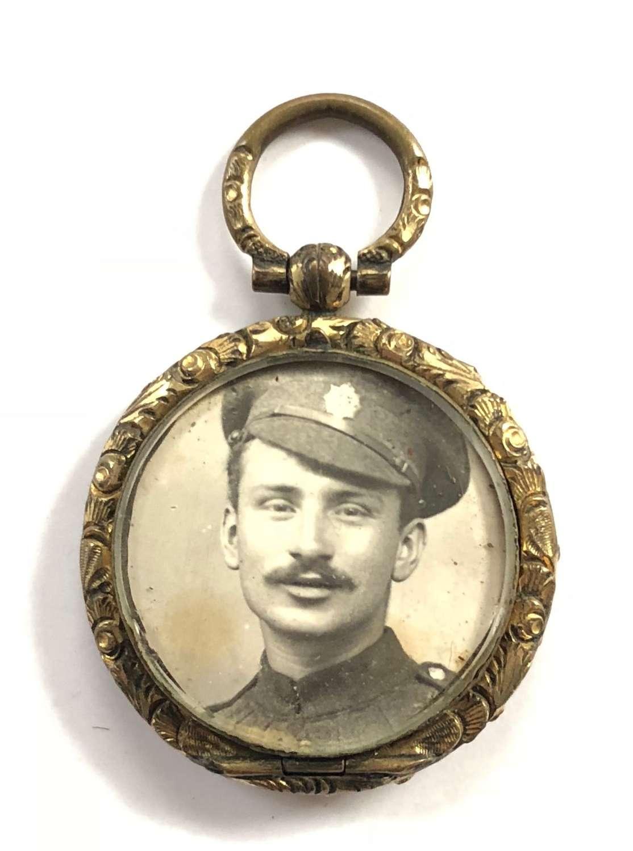 WW1 Army Service Corps ASC Sweetheart Locket.