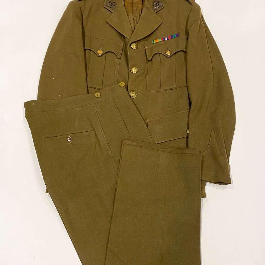 WW2 Period Royal Berkshire Regiment Officer's Uniform