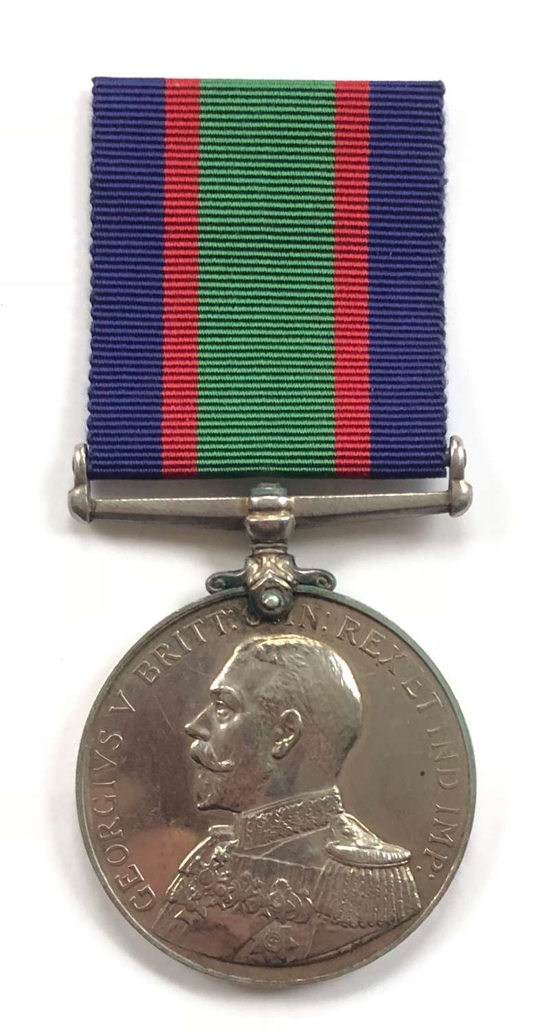 Royal Navy Unusual named RNVR Long Service Medal