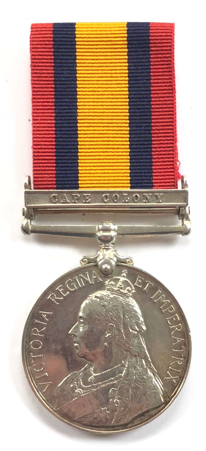 Boer War Army Ordnance Corps Queen's South Africa Medal.