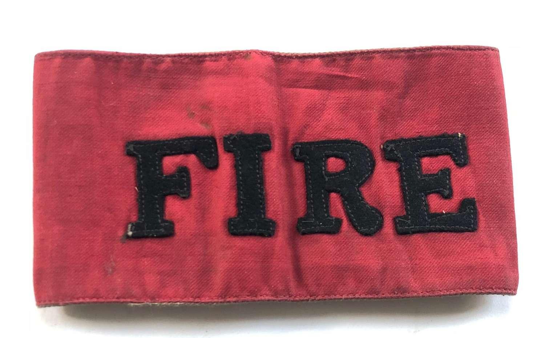 WW1/WW2 Fire Armband.