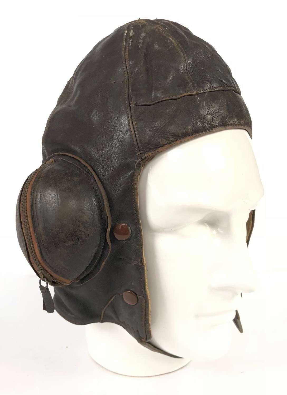 WW2 RAF 1940 Battle of Britain Period B Type Flying Helmet