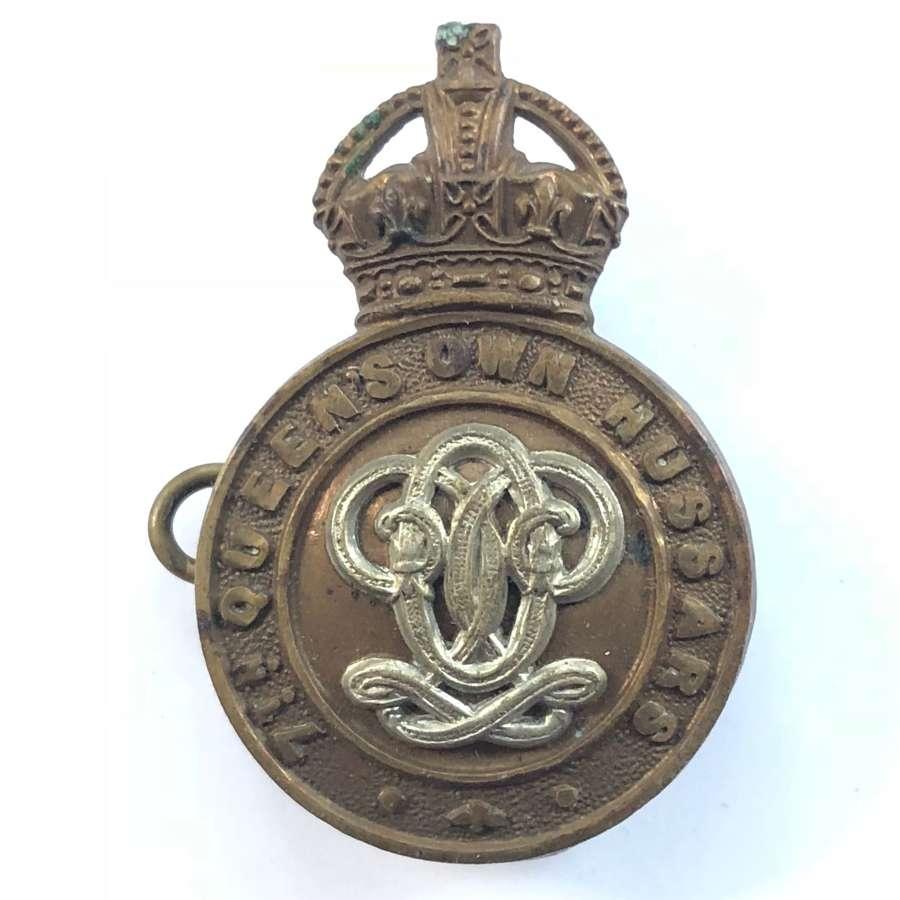 WW1 / WW2 7th Hussars Cap Badge.