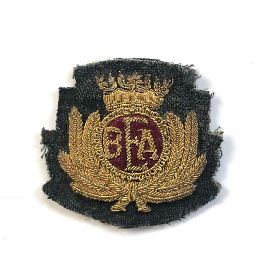 British European Airways Bullion Cap Badge.