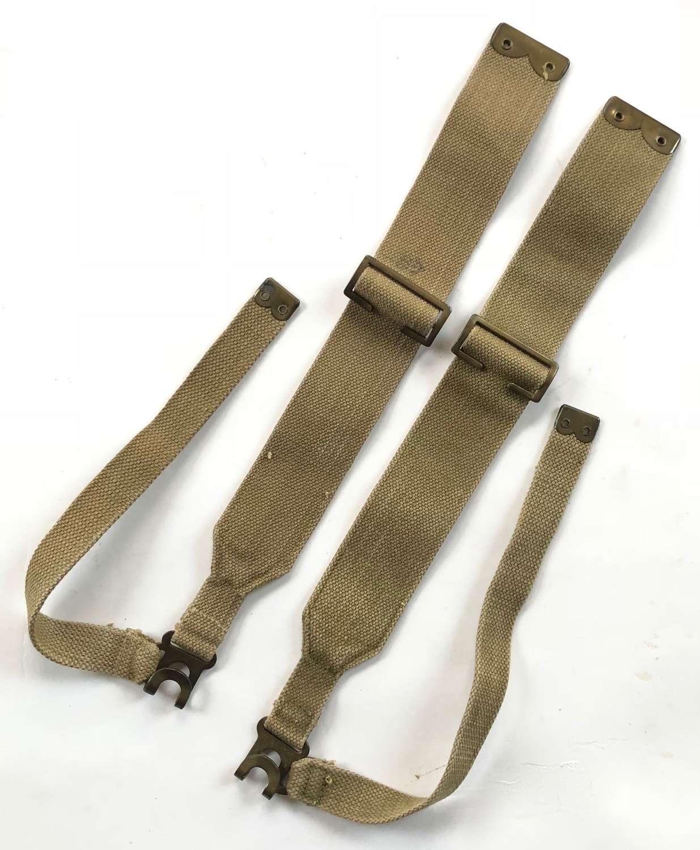 WW2 1940 1937 Pattern Brace Straps.