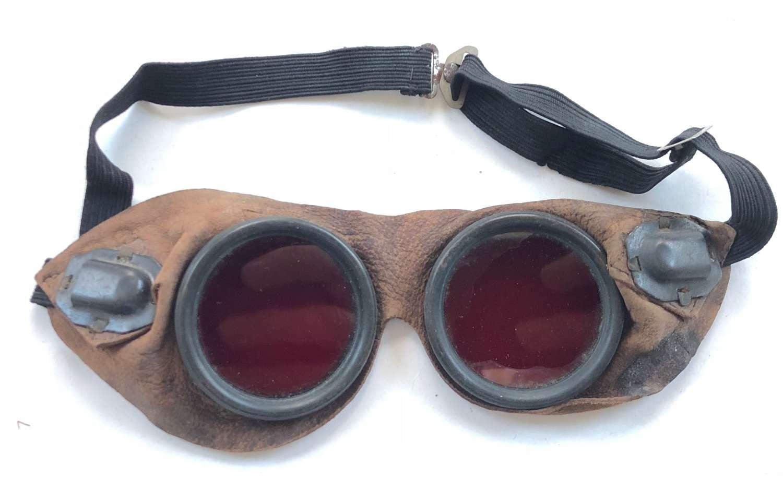 WW2 Period RAF Night Adaption Goggles.