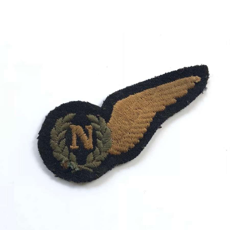 WW2 Royal Australian Air Force RAAF Navigator Brevet Badge.