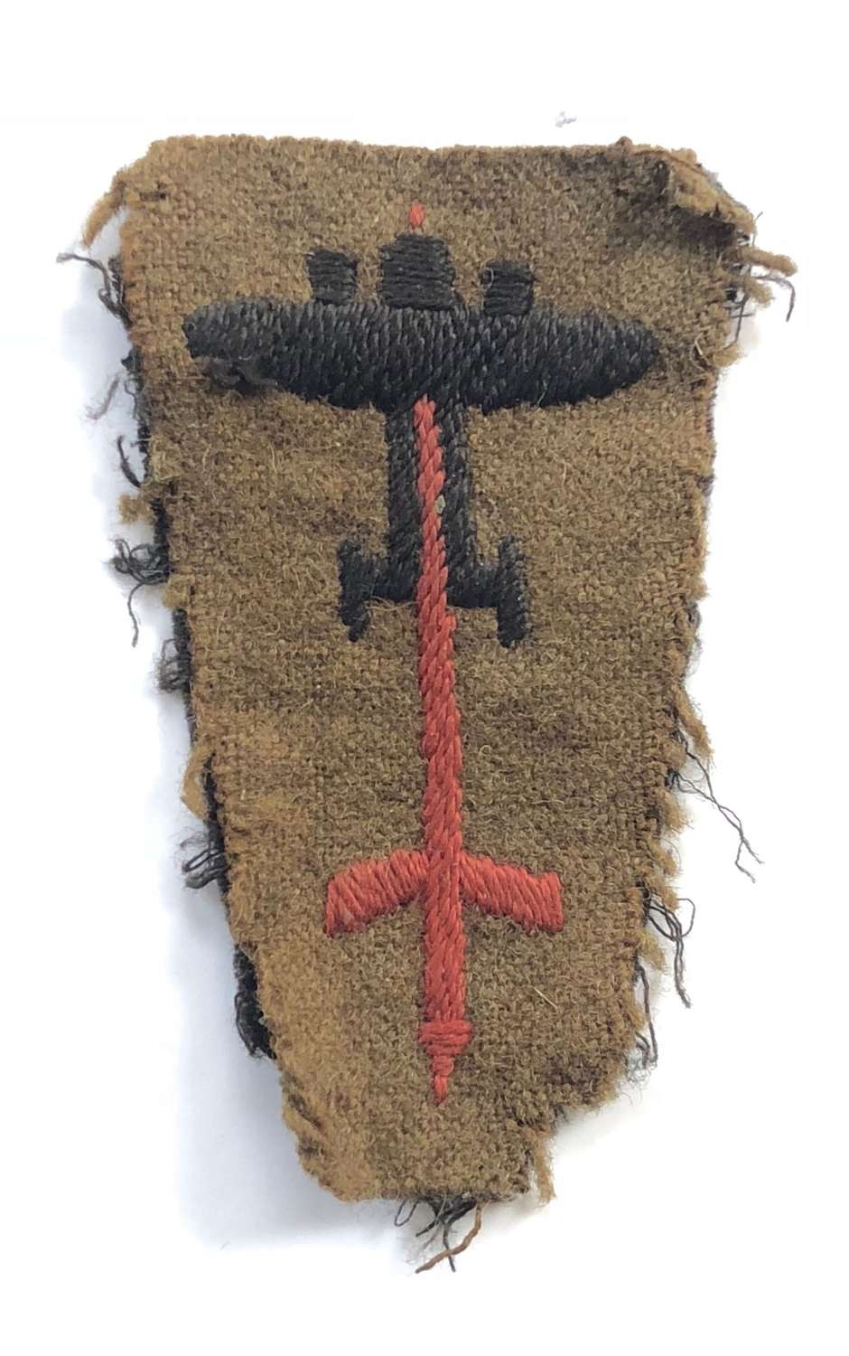 WW2 1st Anti Aircraft 1st Pattern Formation Badge