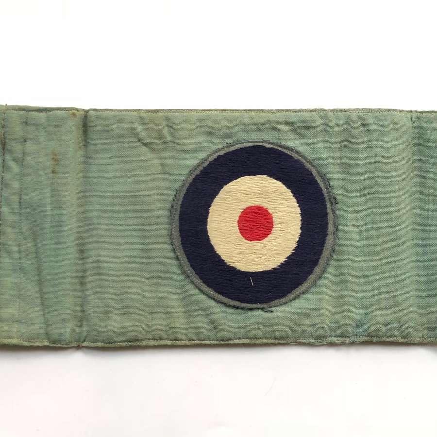 WW2 RAF Staff Car Pennant Flag.