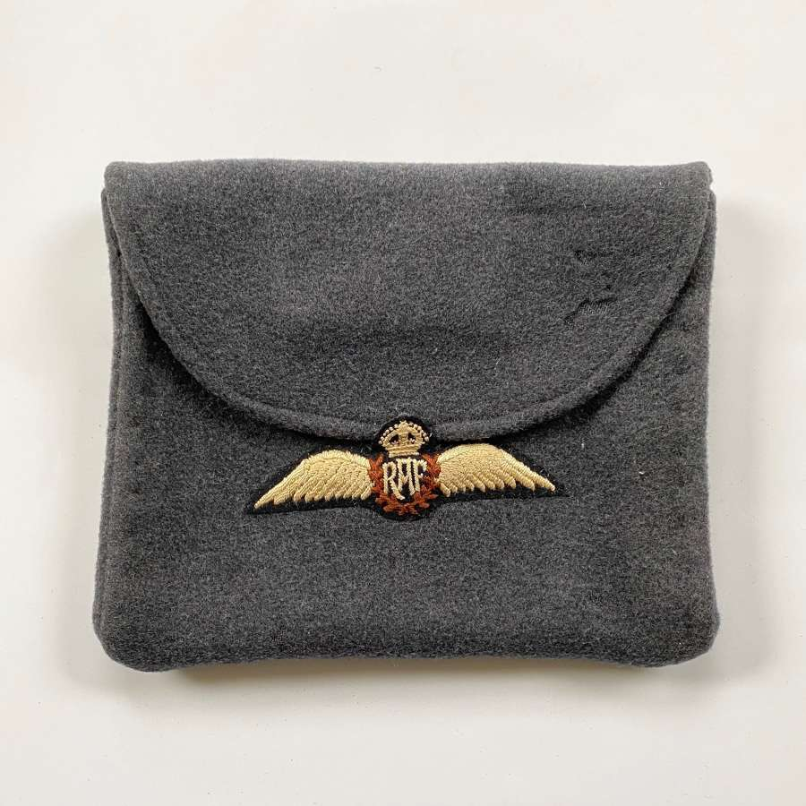 SOLD WW2 Home Front Ladies RAF Sweetheart Handbag.