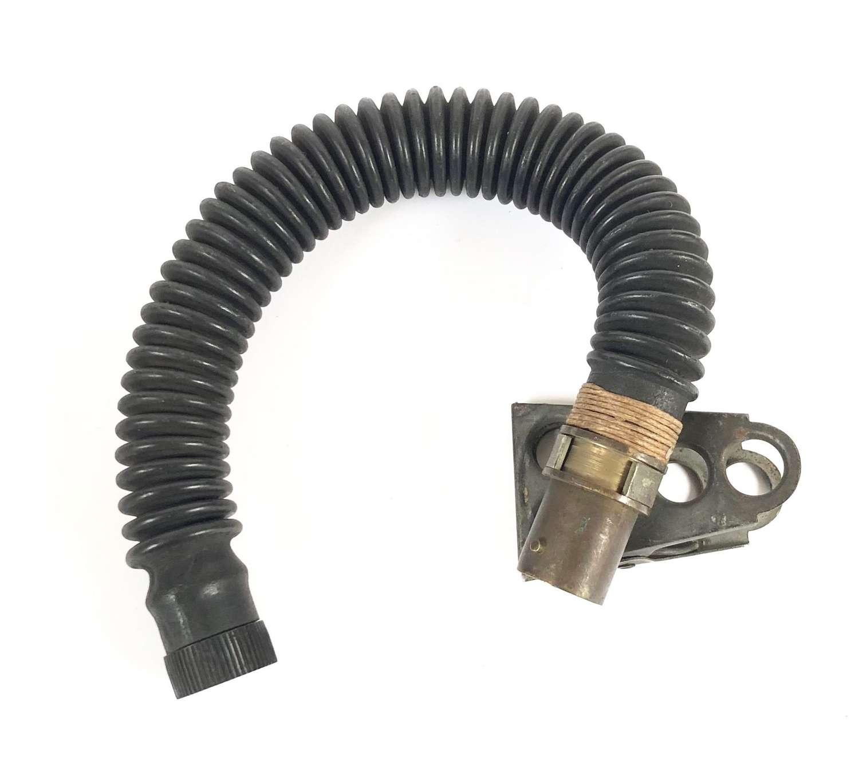 WW2 Period RAF Aircrew Oxygen Mask Narrow Tube.