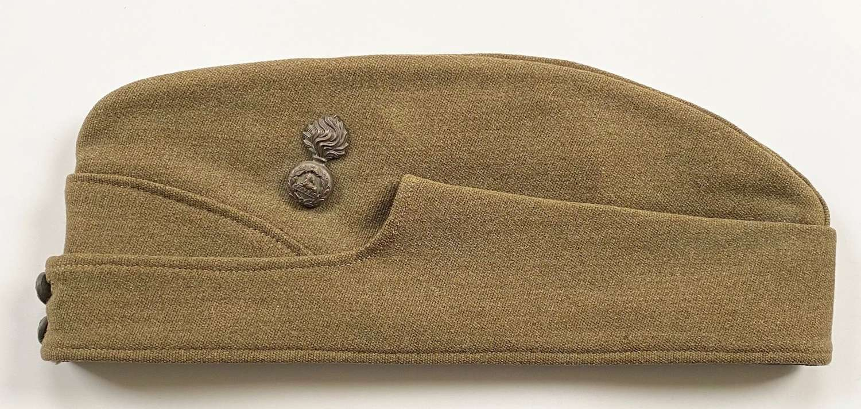 WW2 Lancashire Fusiliers Officer's Side Cap.