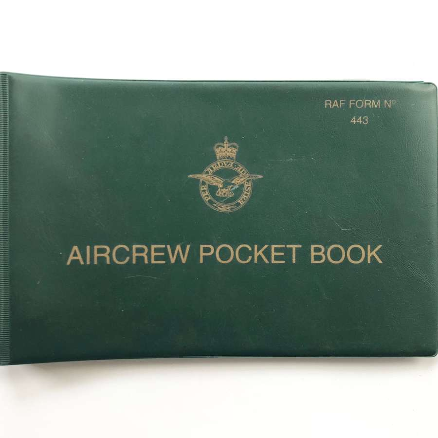 RAF Cold War Period Aircrew Pocket Book.