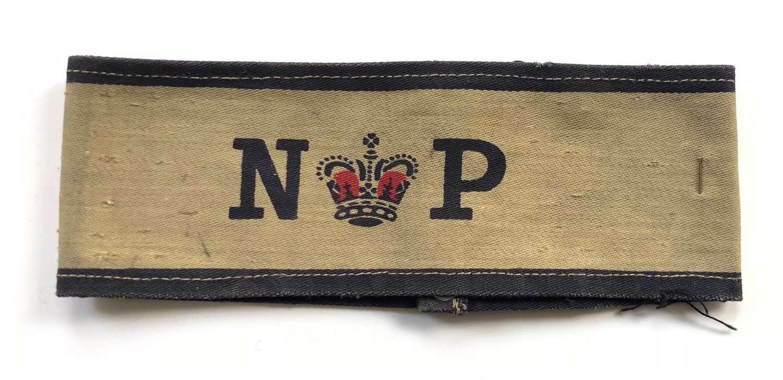 Royal Navy Naval Patrol Printed Armband.