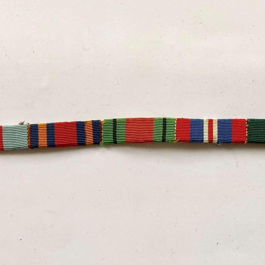 WW2 Uniform Medal Ribbons, Territorial Far East.