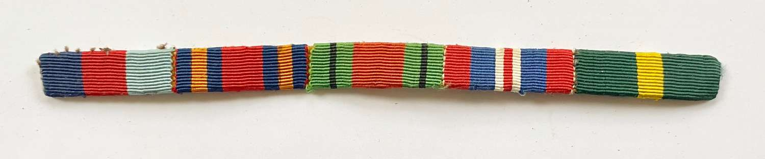 WW2 Uniform Medal Ribbons, Territorial Far East.