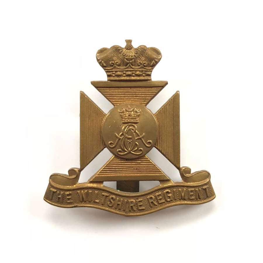 WW1/WW2 Wiltshire Regiment Other Rank's Cap Badge.