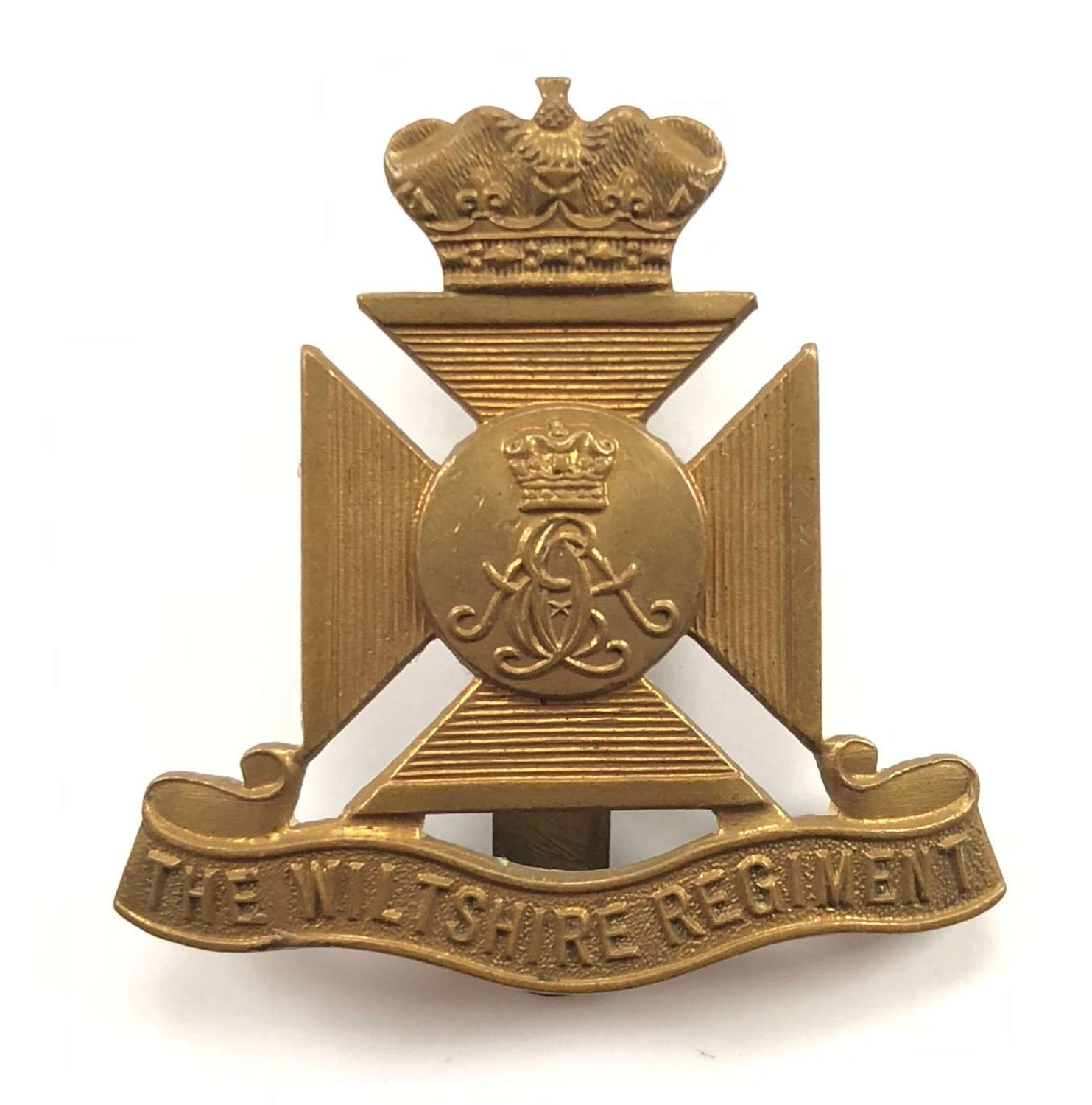 WW1/WW2 Wiltshire Regiment Other Rank's Cap Badge.
