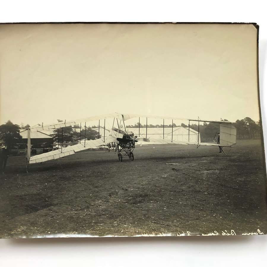 1914 Pioneer Aviation Original Large Photograph Dunne D.8 Aircraft.