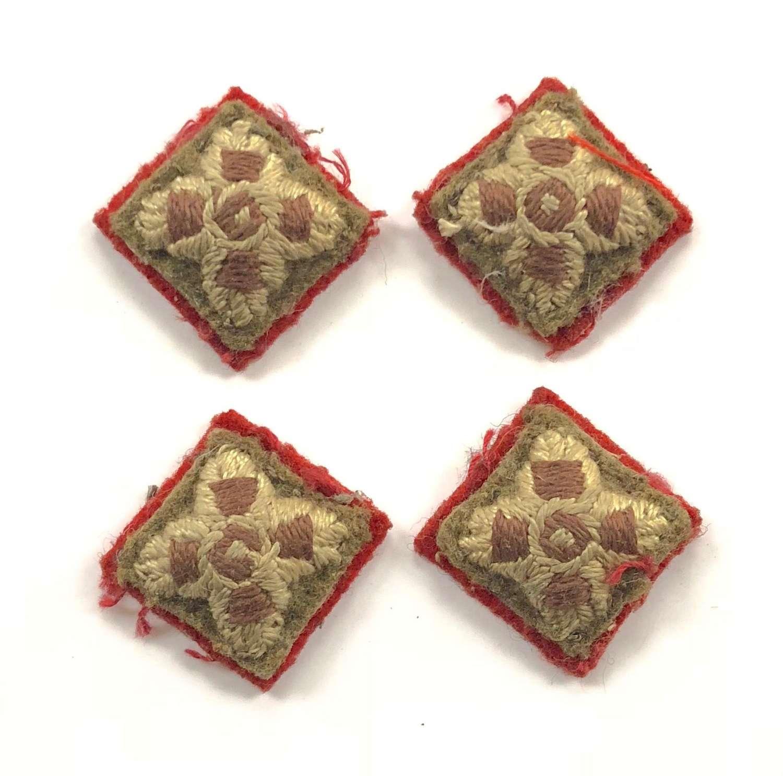 WW2 Period British Army Infantry Officer's Rank Stars.