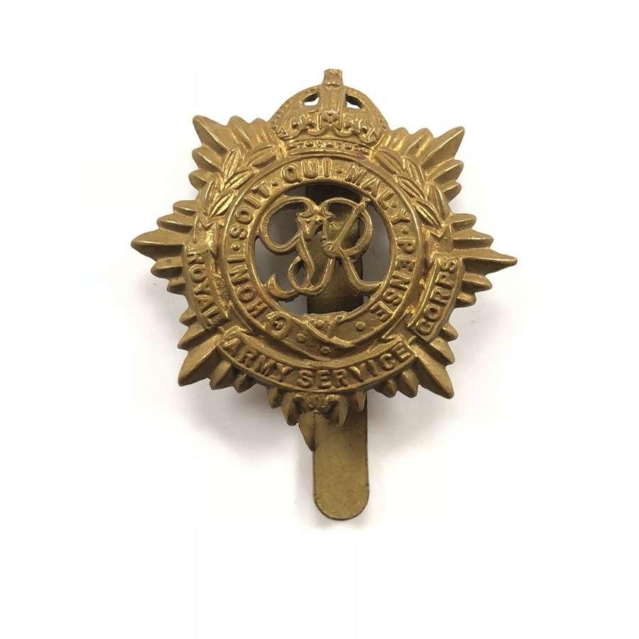 WW2 Royal Army Service Corps Cap Badge.