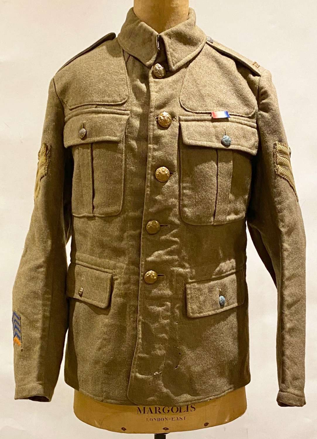 WW1 Royal Fusiliers 1918 Pattern Other Rank's Tunic.