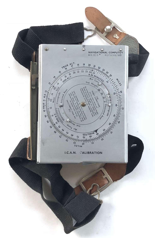 WW2 / Cold War Pattern RAF Dalton Navigators Computer.